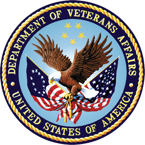 Photo of the official VA seal